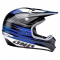 Casco Integral One Industries Kombat Racing-Negro/Blue