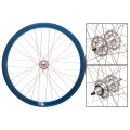 "Fixie Front Wheel 700"" Origin 8 With profile Blue Anonized (32 spokes)"