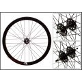 "Fixie Front Wheel 700"" Origin 8 With profile Black bright (32 spokes)"