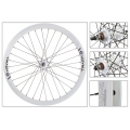 "Fixie Front Wheel 700"" Origin 8 Track Attak White (32 spokes)"