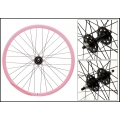 "Fixie Rear Wheel 700"" Pink With profile DP18"