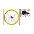 "Fixie Rear Wheel 700"" Origin 8 With Coaster Brake Hub KT2 Gold"