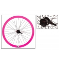 "Fixie Rear Wheel 700"" Origin 8 With Coaster Brake Hub KT2 Pink"