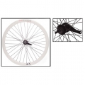 "Fixie Rear Wheel 700"" Origin 8 With Coaster Brake Hub White"