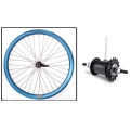 "Fixie Rear Wheel 700"" Origin 8 With Coaster Brake Hub Blue Metalic"