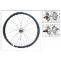 "Fixie Rear Wheel 700"" High Profile Silver Origin 8 (32 spokes)"