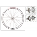 "Fixie Rear Wheel 700"" High Profile Chrome Silver Origin 8 (32 spokes)"