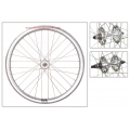 "Fixie Front Wheel 700"" Origin 8 Chrome Silver With High Profile (32 spokes)"