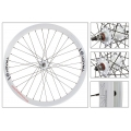 "Fixie Rear Wheel 700"" Origin 8 Track Attak White (32 spokes)"