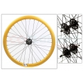 "Fixie Front Wheel 700"" Origin 8 With profile Gold (32 spokes)"
