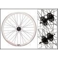 "Fixie Rear Wheel 700"" Profile White Origin 8 Brake Band CNC (32 spokes) ECO"