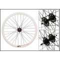 "Fixie Rear Wheel 700"" Profile White Origin 8 (32 spokes) ECO"