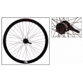 "Fixie Rear Wheel 700"" Origin 8 With Coaster Brake Hub KT2 Black"