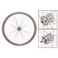 "Fixie Rear Wheel 700"" Profile Silver Origin 8 (32 spokes)"