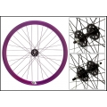 "Fixie Rear Wheel 700"" Profile Purple Anonized Origin 8 (32 spokes) ECO"