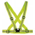 Arnes Elástico Reflectante Amarillo Fluorescente Wowow Cross Belt