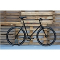 Fixie Bicycle Handlebar Height Double Black