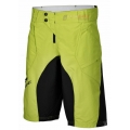 Pantalon All Mountain Haibike Shorts Hombre Amarillo/Verde