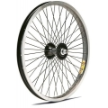 "Rear Wheel BMX 20"" Black 36spokes Front ZAC30"