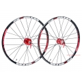 "Ruedas Progress XCD-1 27,5"" (650b) Negra/Roja 2013 Ultraligera"