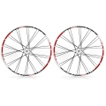 "Ruedas Progress XCD 27,5"" (650b) Blanco (Del.-Tra.-Par)"