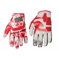 Guantes Redline Flight Rojo Blanco
