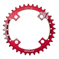 ChainRing Reverse Race SL 38 teeth for single chainring Red