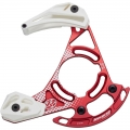 Reverse Chainguide X1 Mini Red /White 32-36t ( ISCG-05) with BashGuard