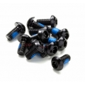 Pack 12 Tornillos Disco Freno Reverse M5x10mm Negro