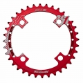 ChainRing Reverse Race SL 36 teeth for single chainring Red