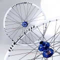 "Reverse Evo9  26"" front Wheel (4 in 1) Blue/White/Black"