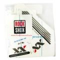 Adhesives Stickers Kit RockShox Reba XX Black Silver