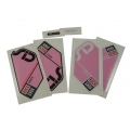 Adhesives Stickers Kit RockShox Sid Race Pink