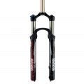 "Fork Suspension RockShox Reba RLT 27.5"" Solo Air - Pushloc - Tapered - 2014"