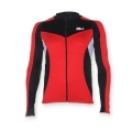 Long Sleeve Maillot Rogelli Ranco Red Black White