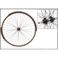 "Fixie Wheel 700"" Black Rear Weinmann Manuka 6/7/8V Thread CNC"