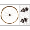 "Fixie Wheel 700"" Brown Rear Weinmann Manuka CNC 8-9V Sop.Disco"
