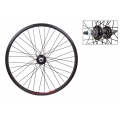 "Rear Wheel BMX 20"" Black ZAC20 speeds 1-7"