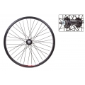 "ZAC20 black 20"" BMX front wheel"