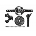 Group Full Sram X01 GripShift Black (BB30 / GXP)