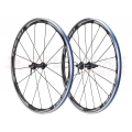 Shimano RS81 Alu Carbon Road C35 11s clincher pair of road wheels 35mm