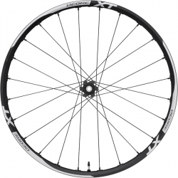 "Shimano Deore XT WH-M785 26"" 9QR quick release Front Wheel"