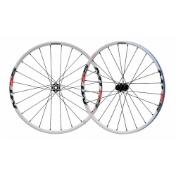 Juego Ruedas 26 Shimano MT55 Center-lock Blanco