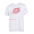 Camiseta Logo Troy Lee Designs Blanco