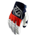 Guantes Troy Lee Designs GP Rojo Blanco Azul