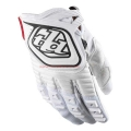 Troy Lee Designs GP White Gloves