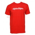 Camiseta Signature Troy Lee Designs Rojo
