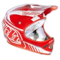 Casco Integral Troy Lee Designs D2 Delta Rojo