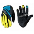 Troy Lee Designs ACE Blue Yellow Gloves