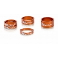 Washers Spacers Headset XLC Color Orange